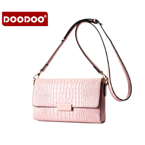 DOODOO 潮流女款小包包2017新款女包冬季单肩女士包包百搭女包迷你斜挎包 D6018 【支持礼品卡】