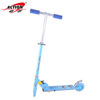 ACTION/动感 703 二轮滑板车 儿童闪光轮 铝合金可折叠脚刹踏板