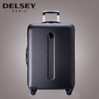 (可礼品卡支付)Delsey 法国大使 防刮行李箱硬箱 万向轮拉杆箱