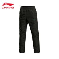 李宁男装篮球系列防风厚款男士运动棉裤AKMJ059-1
