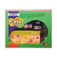 日照鑫 晨光绿盒子 美术涂鸦便携箱儿童颜料盒礼包 学习益智文具HALB0538