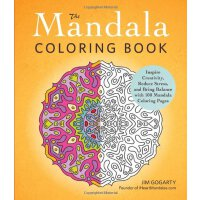 The Mandala Coloring Book: Inspire Creativity, Reduce Stress, and Bring Balance with 100 Mandala Coloring Pages [ISBN: 978-1440569982]