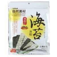 【春播】台湾自然素材海苔扁桃仁脆片40g