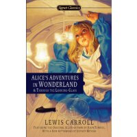 英文原版 爱丽丝梦游仙境 Alice's Adventures in Wonderland and Through the Looking Glass