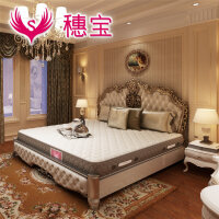穗宝乳胶床垫独立袋装弹簧床垫席梦思1.8米 时光