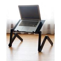 慧乐家床上用小桌子电脑桌简易餐桌小托盘学习桌折叠桌