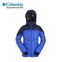 Columbia/哥伦比亚户外男款加厚连帽羽绒服PM5020