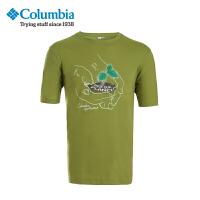 【领卷满400减100】Columbia哥伦比亚户外男款速干透气短袖T恤LM6909