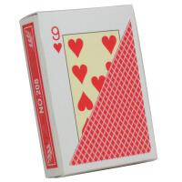 塑料扑克牌 小字防水磨砂塑料德州扑克牌 手感好佳208