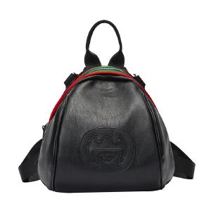DOODOO女士双肩背包2017新款潮韩版百搭旅行包时尚双肩小包包女包 D6123 【支持礼品卡】