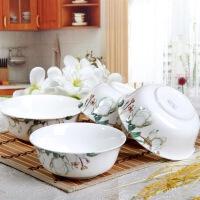 [当当自营]SKYTOP斯凯绨 陶瓷高档骨瓷餐具 如花似玉6英寸面碗(4个装)