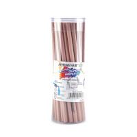 MARCO马可4215-50P铅笔 桶装50支装 学生铅笔 HB 原木铅笔