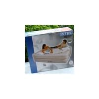正品INTEX充气床66962内置电泵双人加大双层席梦思式气垫床