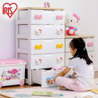 爱丽思IRIS 收纳柜整理柜抽屉柜宝宝衣柜KHG-554