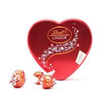[当当自营] 瑞士莲 软心牛奶巧克力-8粒装心型礼盒
