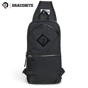 DRACONITE潮流韩版单肩包青年男士休闲校园旅行厚斜跨包胸包13345