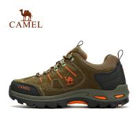 camel骆驼户外情侣款徒步鞋 防滑减震舒适男女徒步鞋