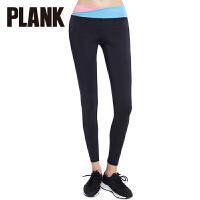 比瘦PLANK 女士 弹力健身裤七分裤 透气紧身跑步瑜伽运动裤 PK019