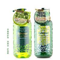 无硅洗发水!日本COSME大赏 Reveur无硅滋养 洗发水 护发素 丰盈修护型 500ml