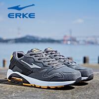 鸿星尔克男鞋运动鞋男季新款气垫轻便耐磨减震复古跑步鞋