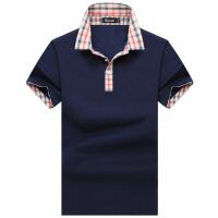 伯思凯男士短袖T恤 夏季新款时尚都市 翻领免烫纯色莫代尔短T衫