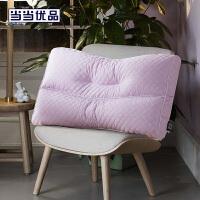 当当优品家纺 纯棉可水洗枕芯 抗菌高弹软管枕头