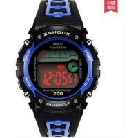 简约精致耐用儿童数字表  小学生印花休闲运动防水电子表  日历表盘手表