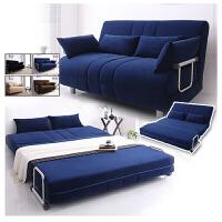 择木宜居 多功能折叠沙发床 现代简约布艺组合沙发