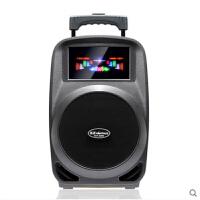 金正N22 广场舞音响便携式音箱大功率户外音响移动拉杆蓝牙播放器