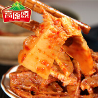 【高原颂】牛板筋小吃自拌辣条牛肉筋零食500g