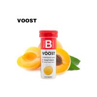 【澳洲直邮】Voost Vitamin B 复合维生素B 泡腾片 黄桃味 10片X6支价 海外购