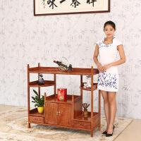 包邮简迪红木家具非洲黄花梨木茶水柜实木储物柜中式实木餐边柜展示柜
