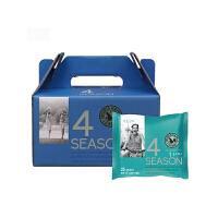 韩国进口山野 M&F 四季混合搭配坚果 蓝莓版 25克/袋 15袋礼盒装