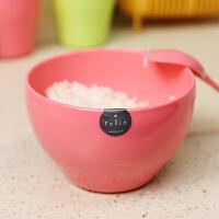 日本进口 日式健康塑料碗 装水果碗泡面碗 创意米饭碗汤碗