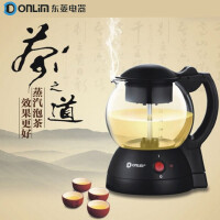 Donlim/东菱 XB-6991煮茶器黑茶壶电热水壶玻璃保温电茶壶煮普洱