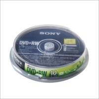 Sony索尼DVD(+RW 、-RW) DVD空白 刻录盘 刻录碟 10片装 可重复擦写