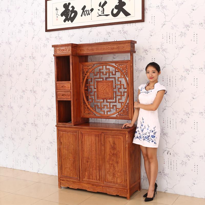 【简迪层架置物架】包邮简迪红木家具客厅家具玄关柜.