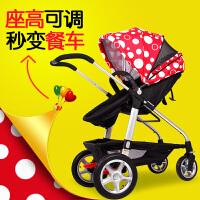 小龙哈彼婴儿车高景观婴儿推车坐躺轻便折叠宝宝童车手推车