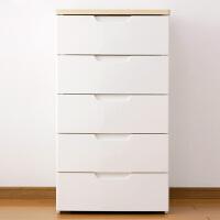 爱丽思IRIS 环保树脂塑料五层抽屉式整理衣柜收纳柜HG-555B