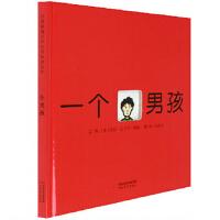 《一个男孩(精)》0~3~6岁儿童绘本图画书 认知数字和英语单词 凯迪克大奖得主劳拉・瓦卡罗・西格作品启发