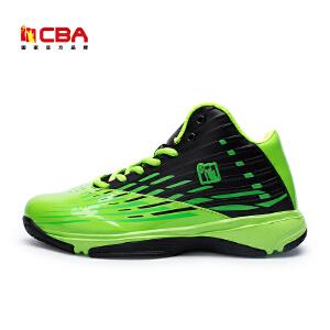 CBA男子篮球鞋 男款高帮球鞋黑红战靴防滑耐磨减震运动鞋男外场鞋