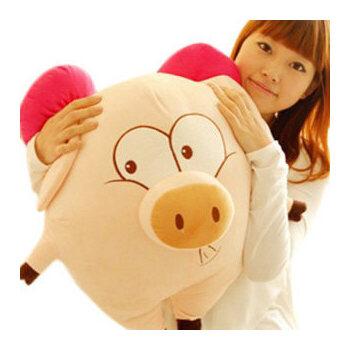 毛绒玩具 麦兜猪猪公仔 天使猪 飞天猪 三顺猪抱枕猪头娃娃