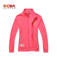 【618狂嗨继续】CBA正品女子运动卫衣 春秋季女士上衣开衫休闲外套卫衣运动服