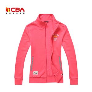 CBA正品女子运动卫衣 春秋季女士上衣开衫休闲外套卫衣运动服
