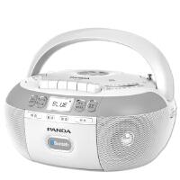 熊猫 CD-880复读dvd机CD机播放机磁带U盘TF卡转录蓝牙连接 蓝牙 磁带dvd U盘插卡 复读机