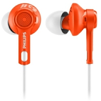 Philips/飞利浦 SHQ2300 入耳式运动耳机 健身跑步防水防汗耳塞 手机耳机 三色可选