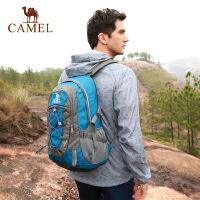【领券满299减200】camel骆驼户外双肩背包男女款休闲徒步30L登山包