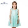 派克兰帝品牌童装 夏装女童时尚蕾丝连衣裙 女童夏季连衣裙