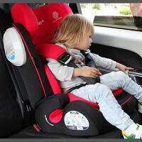 REEBABY儿童安全座椅isofix硬接口 婴儿汽车用 3C认证 9个月-12岁