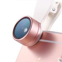 手机镜头广角微距鱼眼三合一单反拍照套装iphone6通用外置摄像头RC